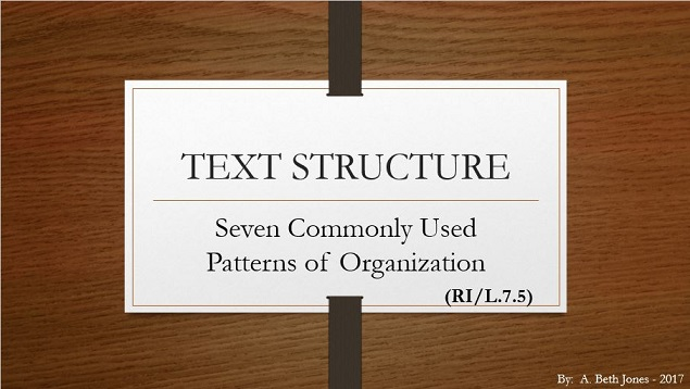 Text Structure - A Languanauts PowerPoint