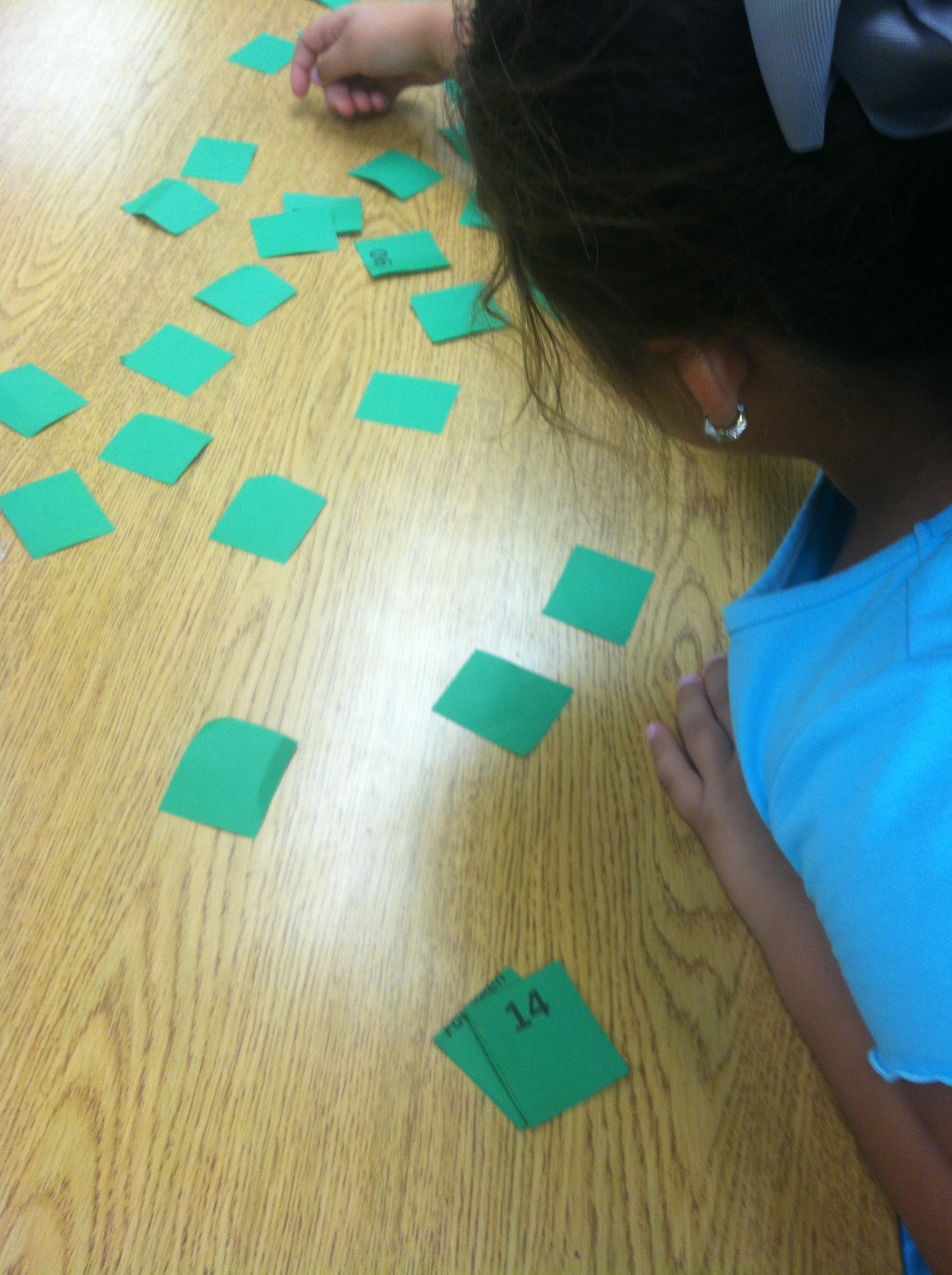 Match Game with Number Words