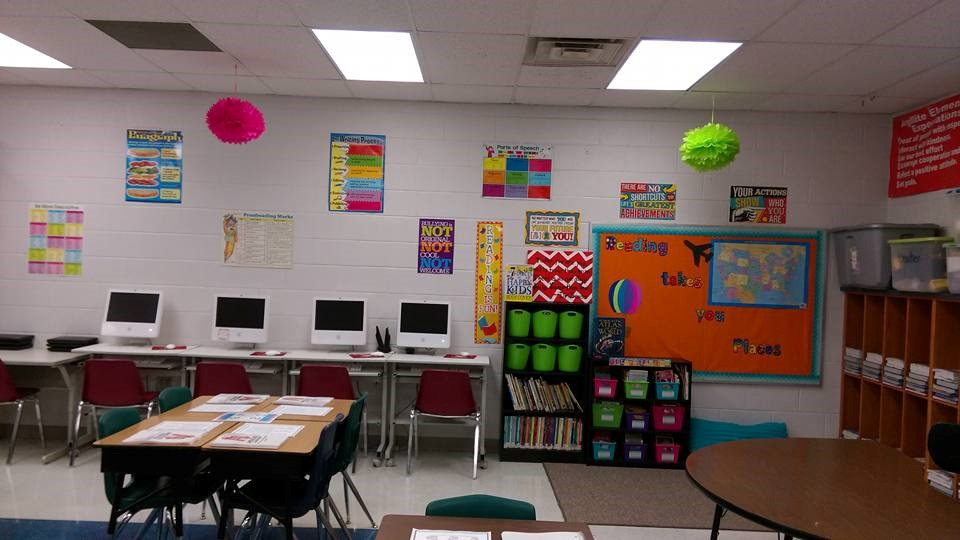 Your child's new classroom!
